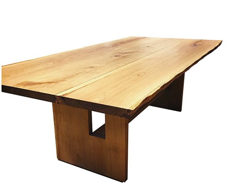 ask, oak, ash wood table
